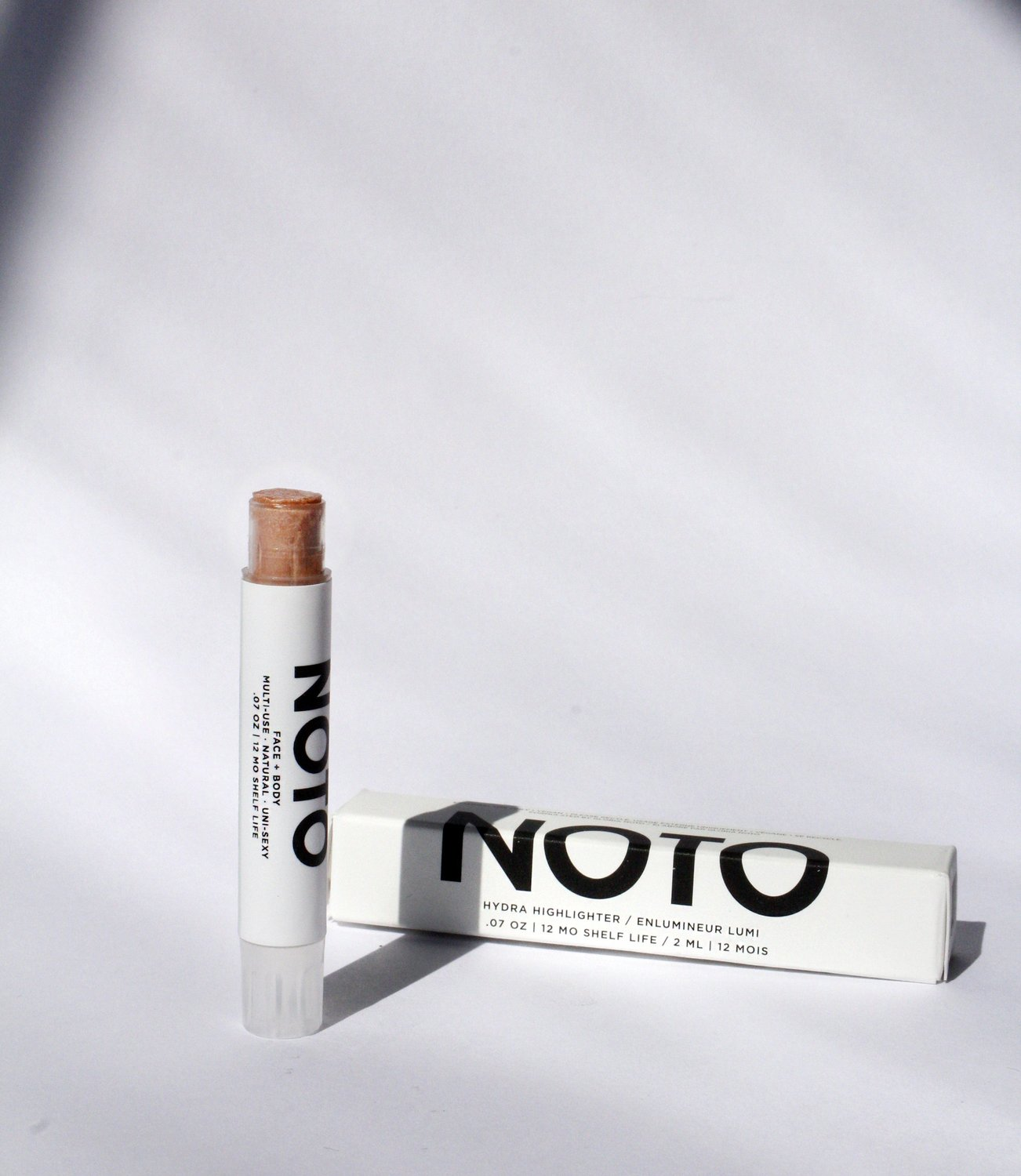 NOTO Highlighter Stick. Available at EASE Toronto.