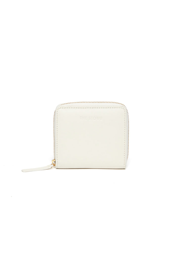 Square Wallet - Marfil