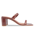 Tanya - Brown Patent Leather