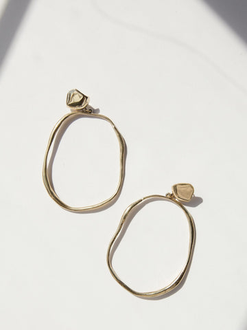 Vero Drops Earrings - Bronze