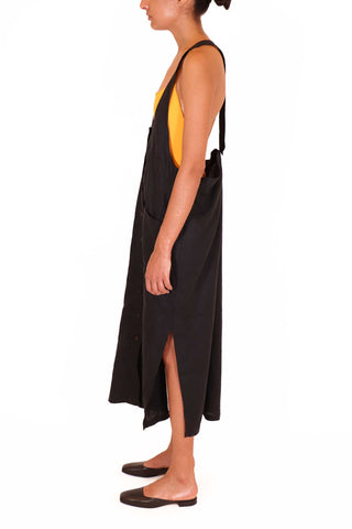 Over It All Dress - Black