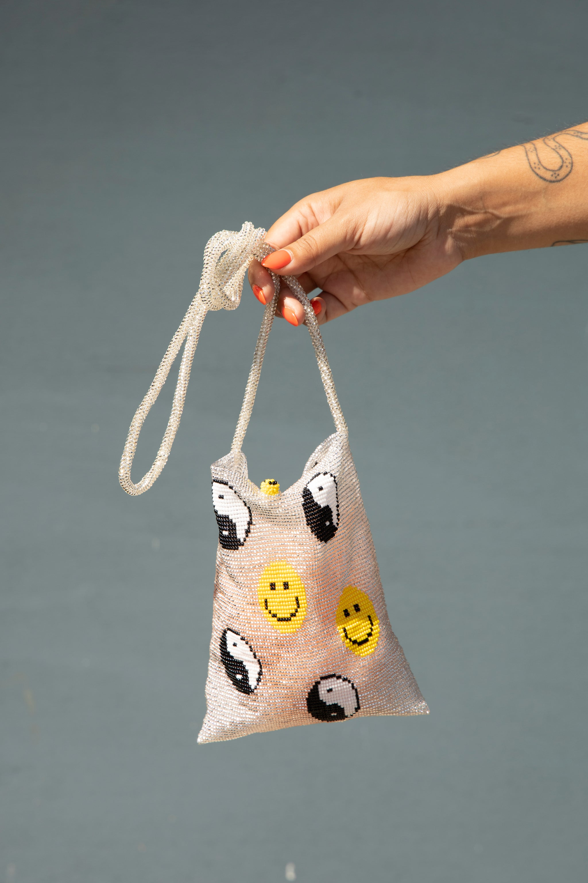 Smiley Phone Bag