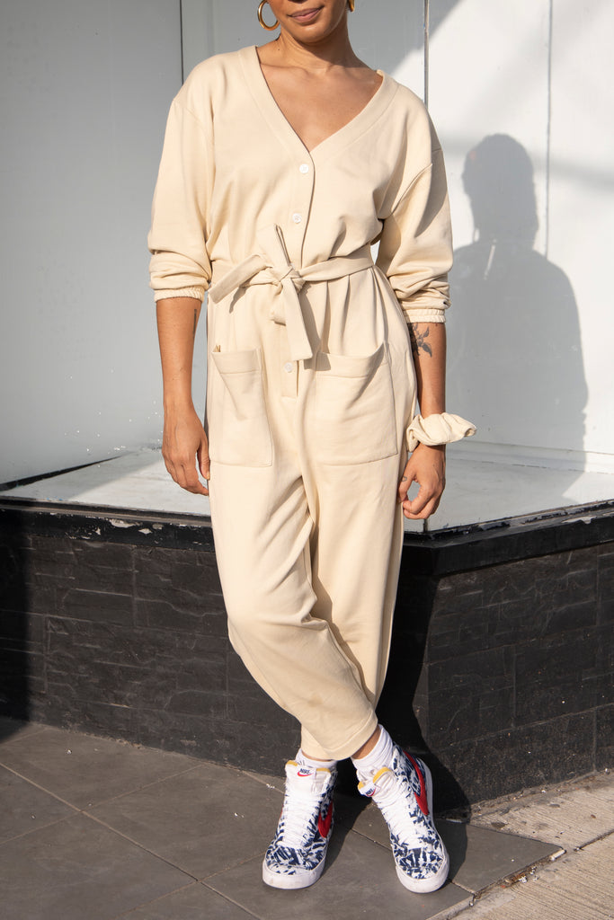 The Jogger Jumpsuit - Marcona