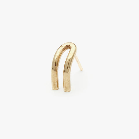 Brass Kynsi LG Earring- Sold Individually