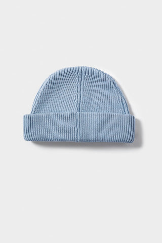 Merino Beanie - Light Blue