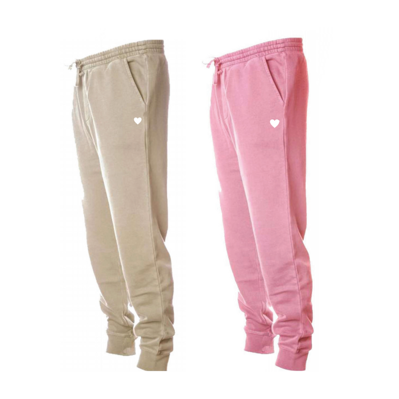 Pigment-Dyed Joggers