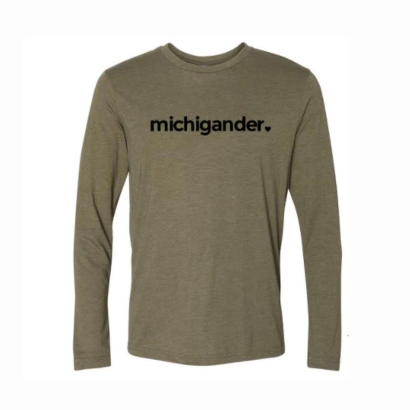 Michigander Classic Long Sleeve Tee