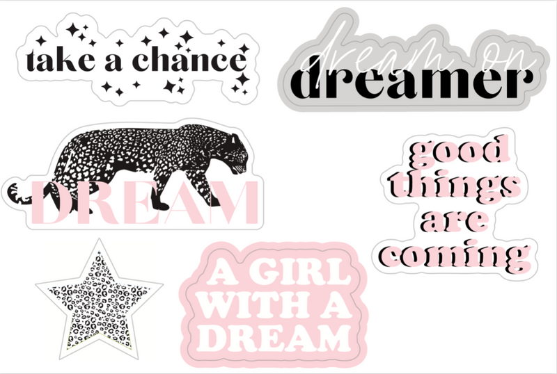 Dreamer Sticker Sheet