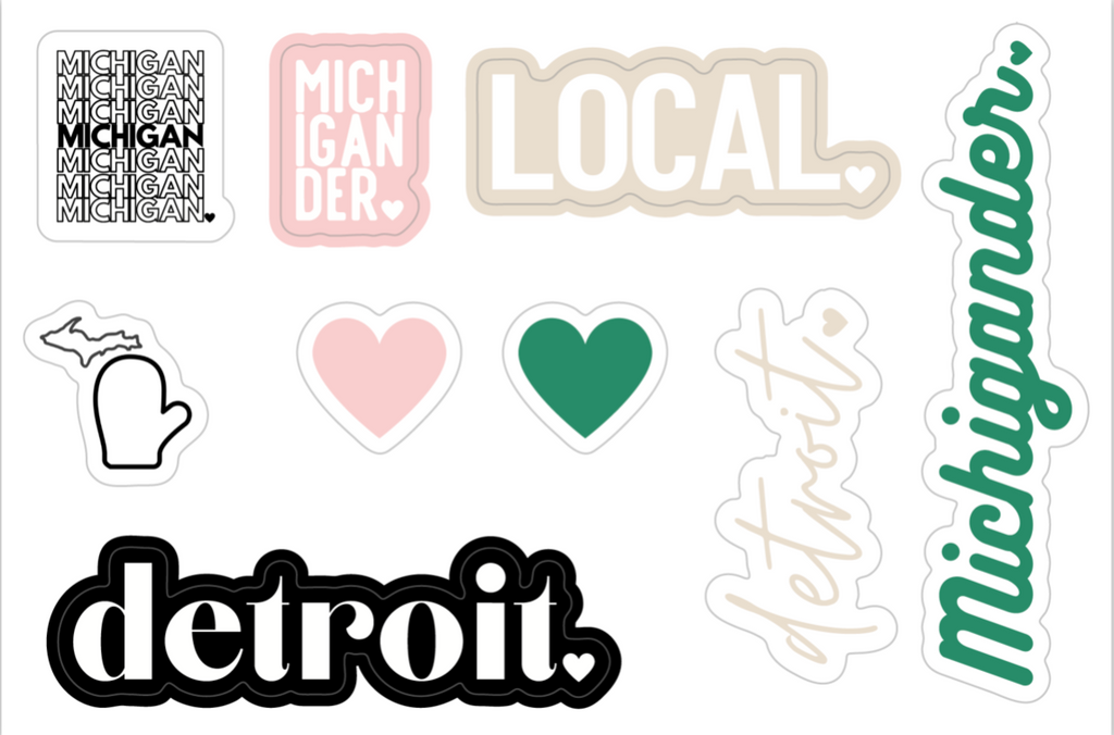 Local Love Sticker Sheet