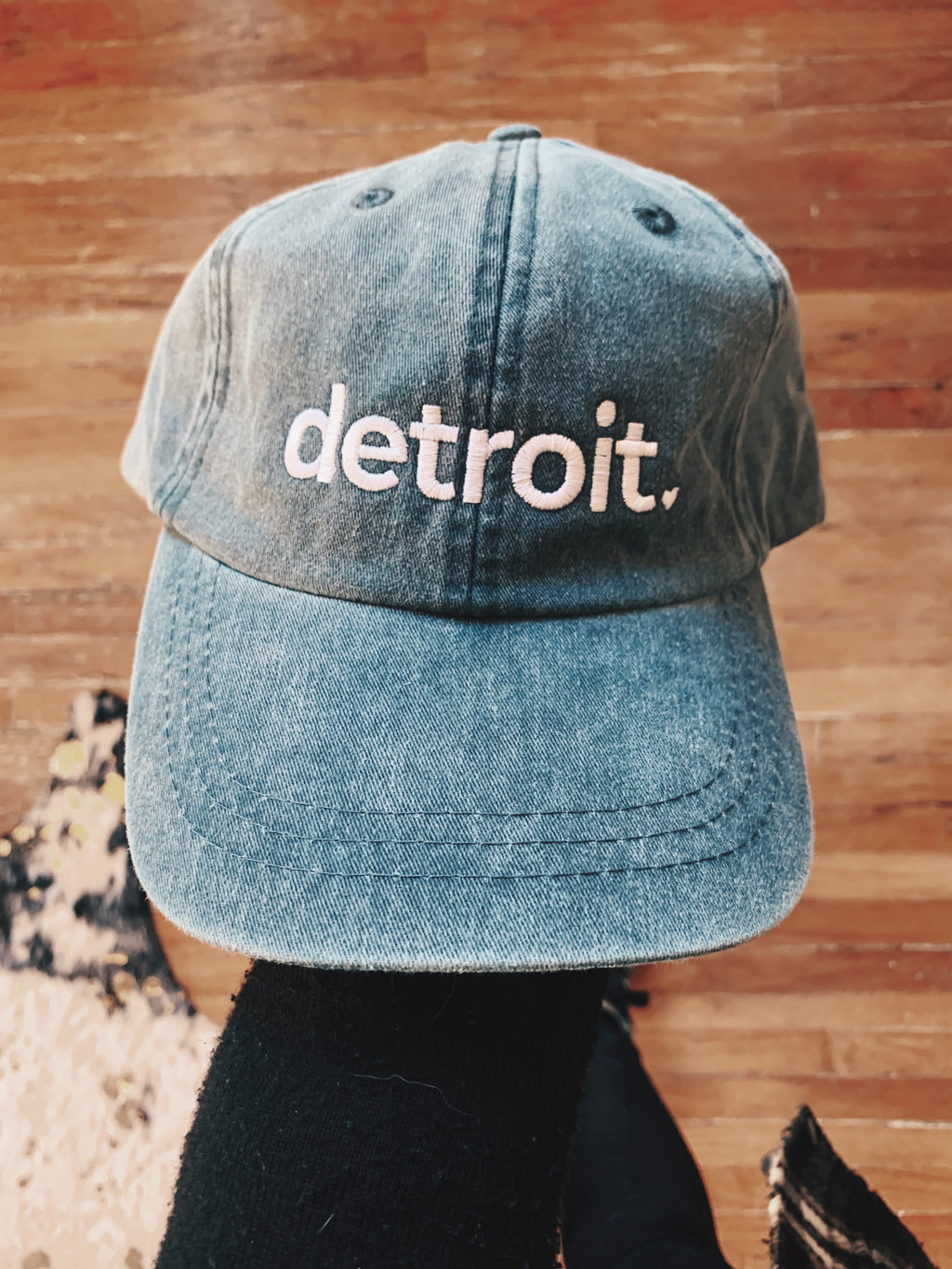 Detroit Embroidered Hat