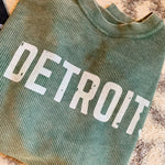 Detroit Distressed Corded Crew