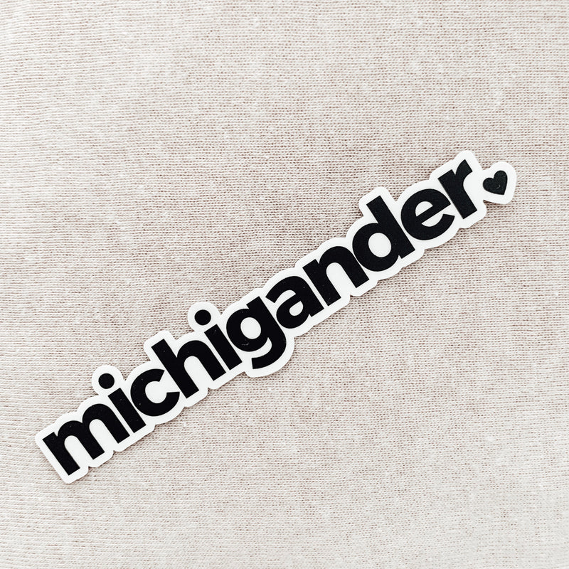 Michigander sticker (Set of 3)