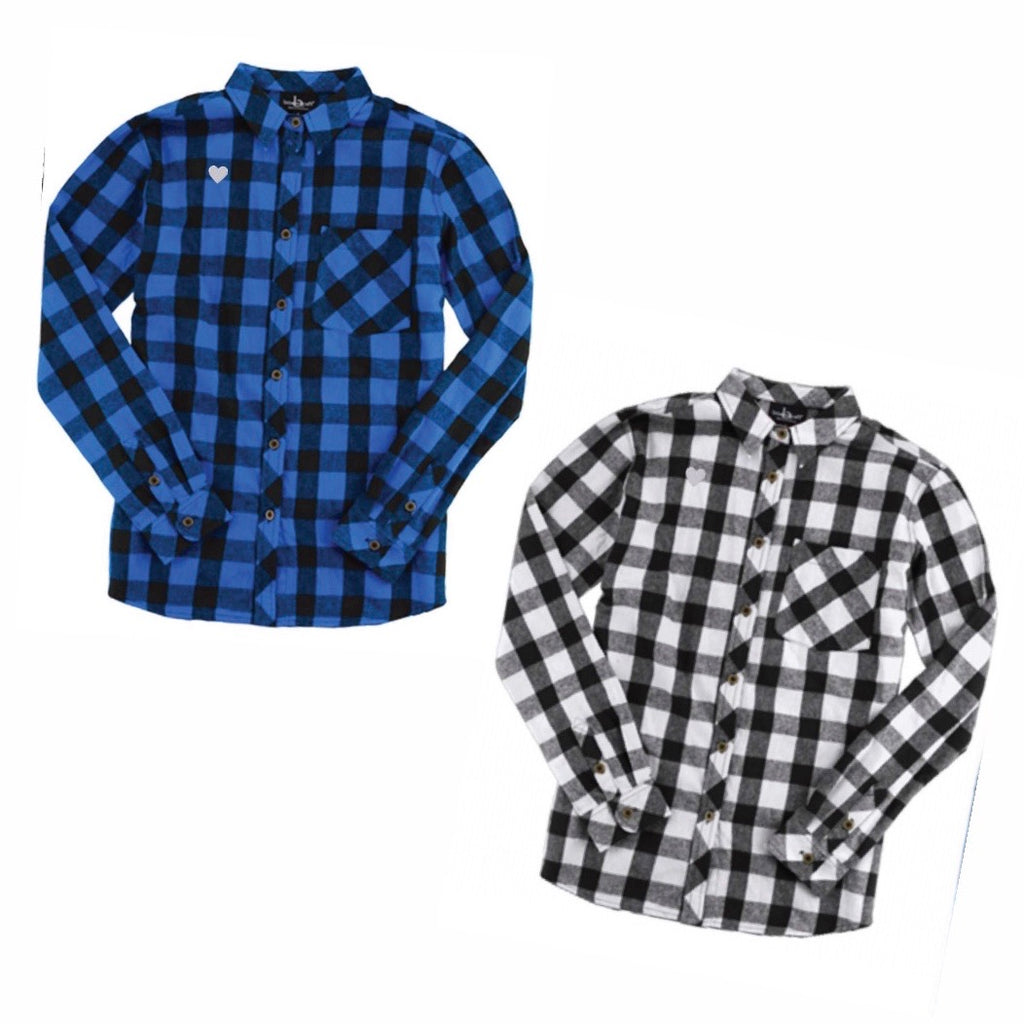 Flannel Shirt Buffalo Plaid