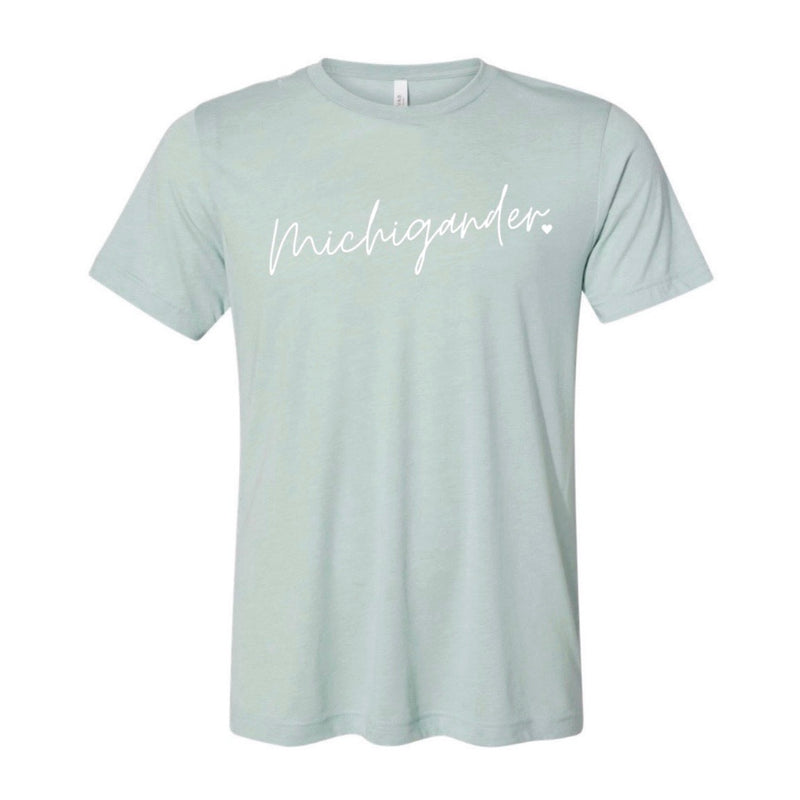 Michigander Script Shirt