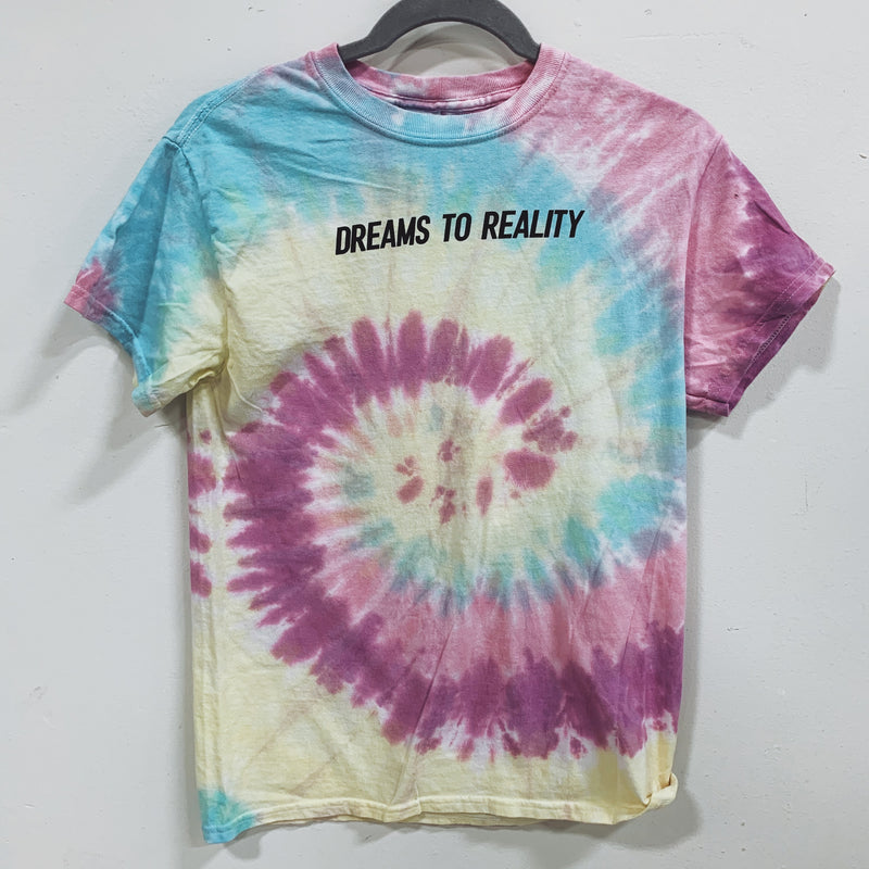 DREAMS TO REALITY Tie Dye Tee