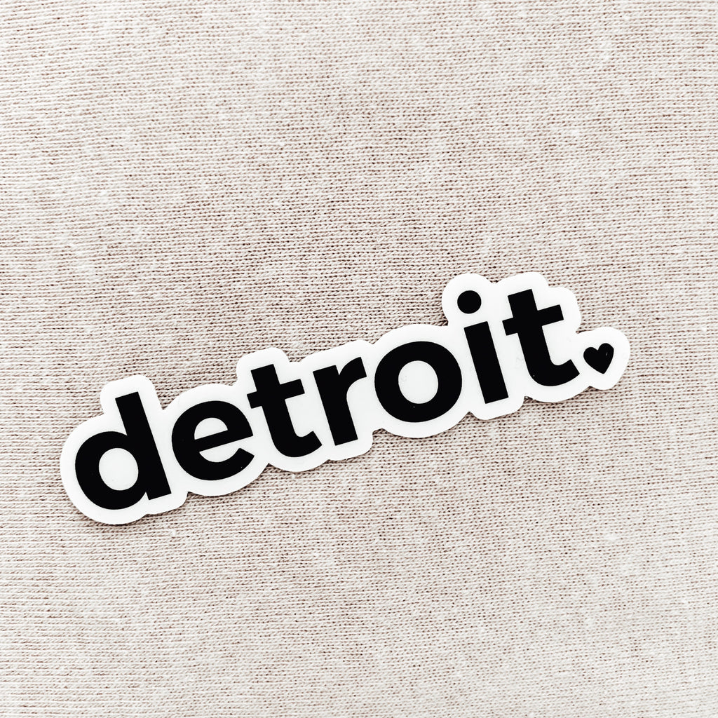 Detroit Sticker (Set of 3)