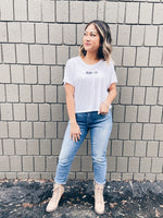 KILOH + CO LOGO FLOWY CROP TEE