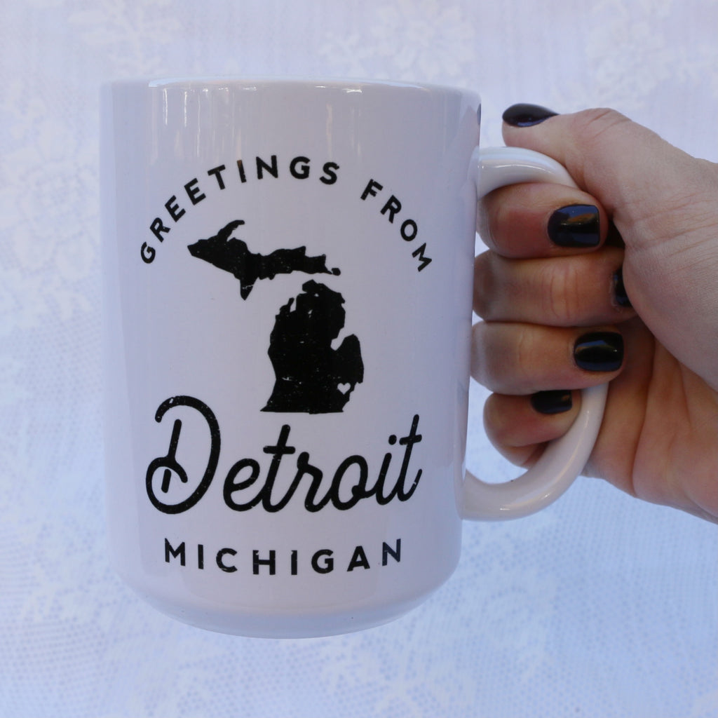 Greetings Ceramic Mug