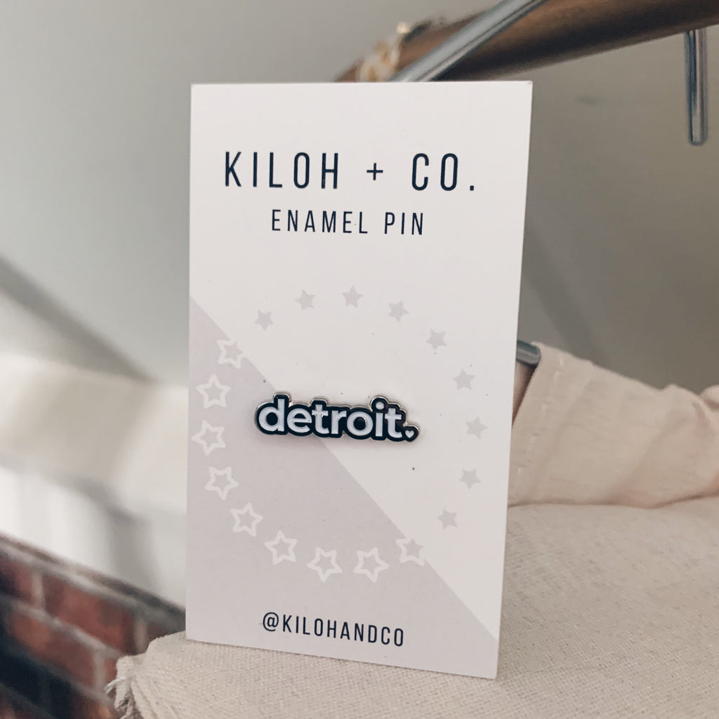 Detroit Enamel Pin