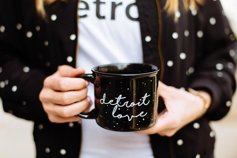 detroit love coffee mug