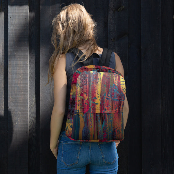 Chaos Sunshine Backpack - A Royal Masterpiece | Abstract Art