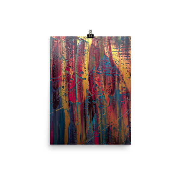 Chaos Sunshine Poster - A Royal Masterpiece | Abstract Art