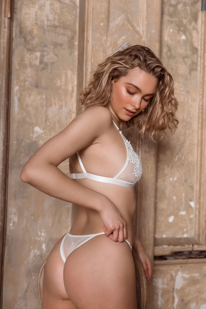 Chantelle Bralette White