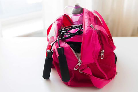green clean your gym bag