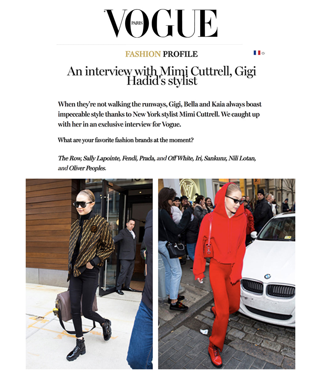 MAR 22, 2018 | iRi Mentioned in Vogue Paris Interview with Mimi