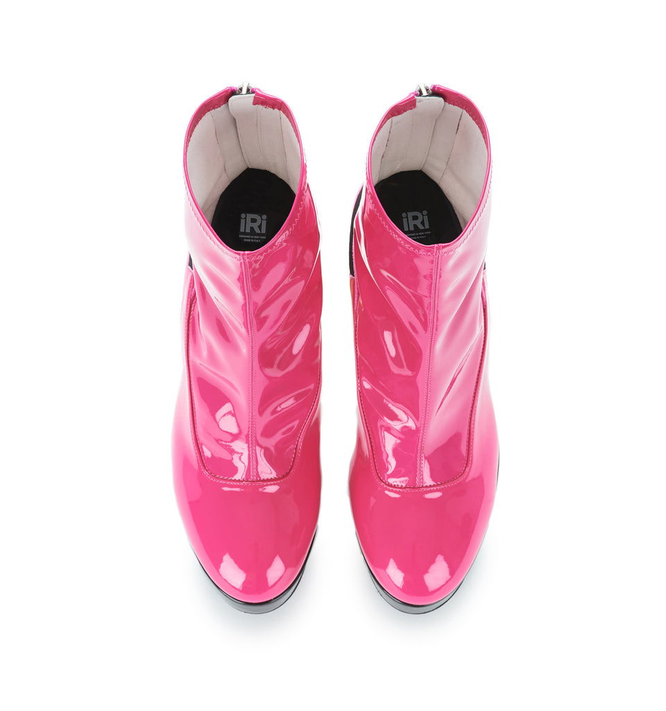 Pink Patent Boot (Use Code BlackFriday to Get 20% Off)