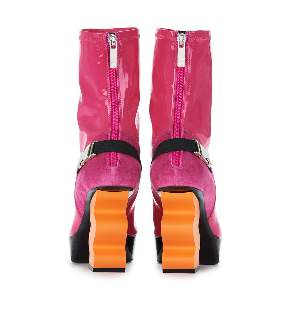 Pink Patent Boot - $595