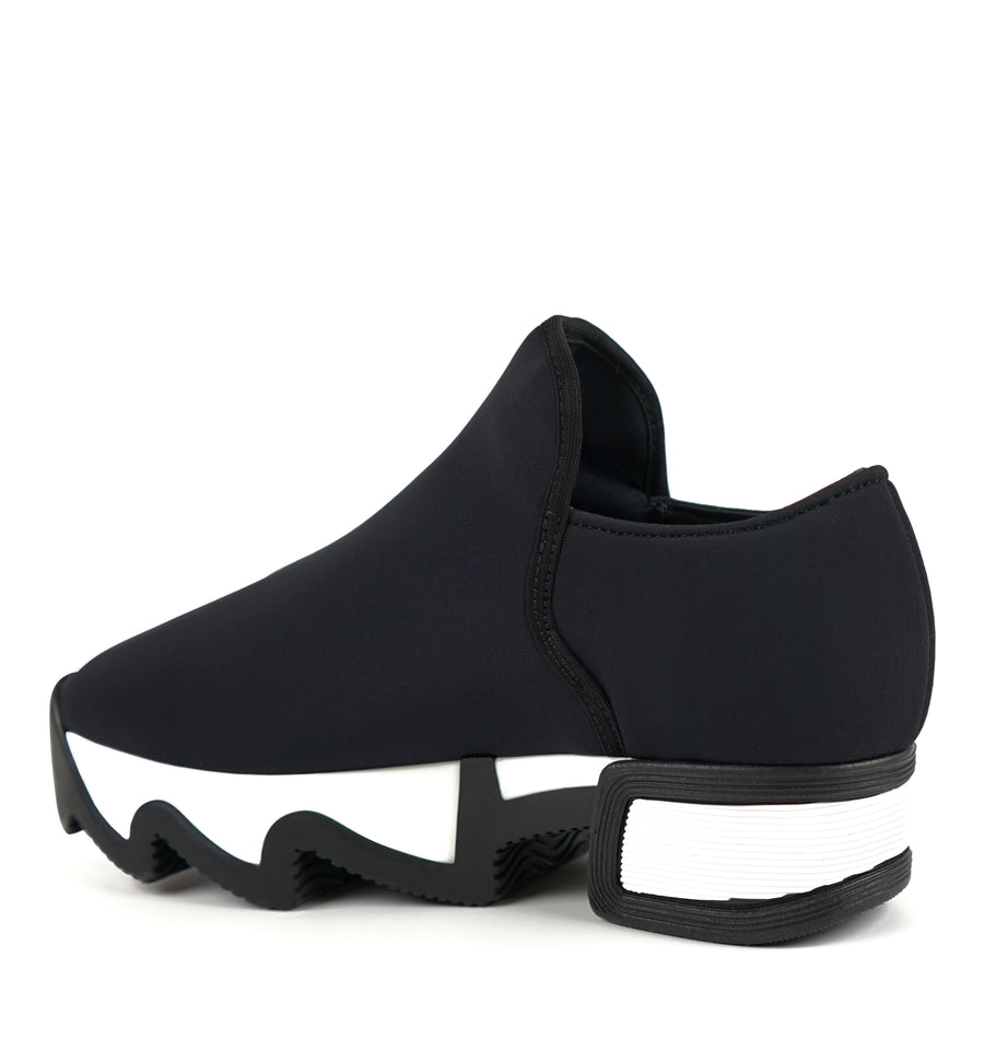 Unisex Black Outline Neoprene Sneaker