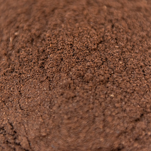 Finely ground coffee