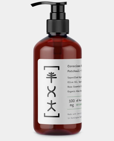 Patchouli + Rose CBD Body Wash