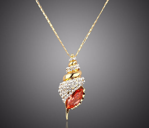 Stellux Austrian Crystal Pendant Necklace