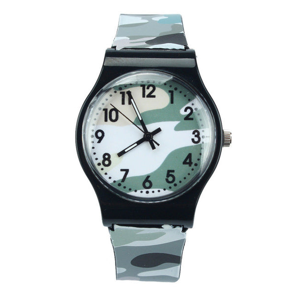 Kids Camouflage Wrist Watch