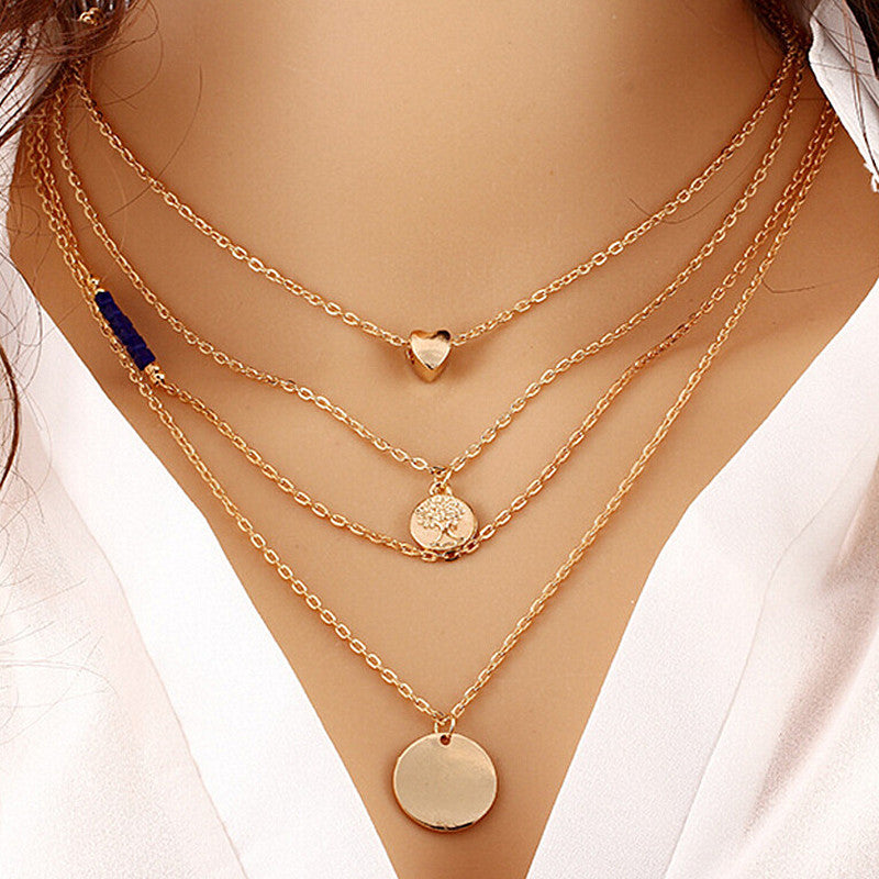 Multi-layer Choker Necklace