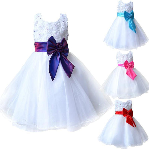 First Holy Communion Lace Dress for Girls