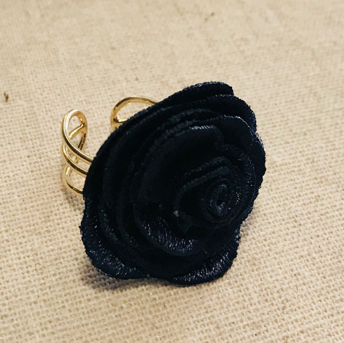 Girls Night Flower Ring