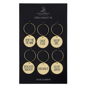 Wine Charm Set- Girls Night In