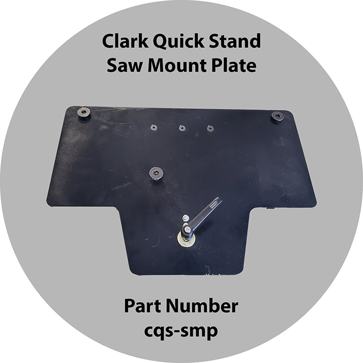 Clark Quick Saw Mount Plate
