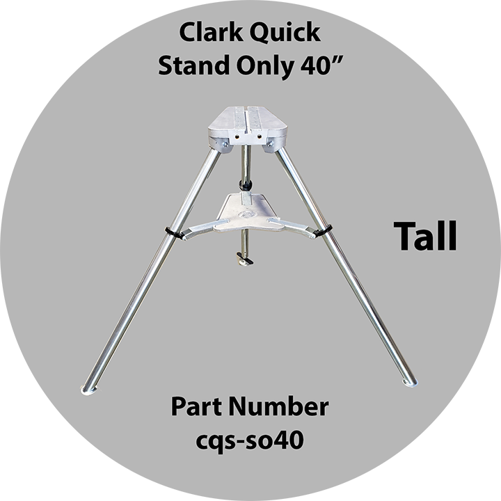 Clark Quick Switch Stand Only 40 Inch