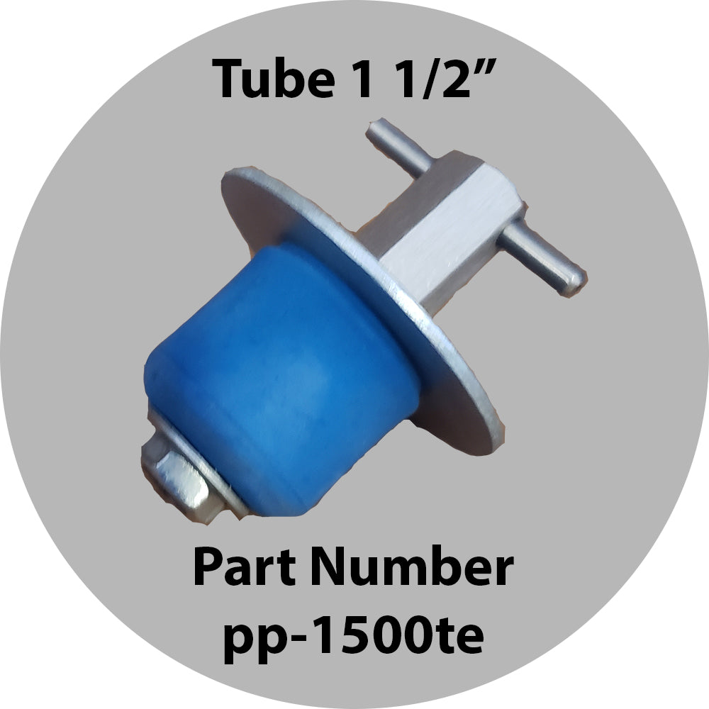 "Purge Plug 1 1/2"" For Tube Outlet"