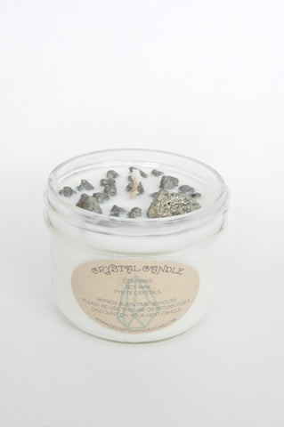 Gold Rush Crystal Candle