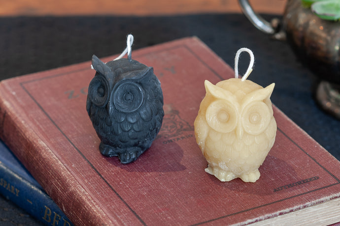 Beeswax Candles - Owl