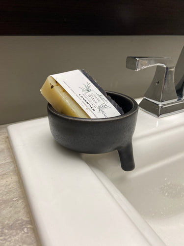 Handmade Soap Dish with Spout