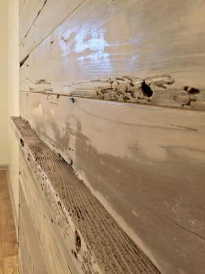 reclaimed cedar wood st augustine florida old town timber sliding barn door white wash barn door