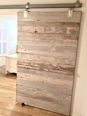 Custom Barn Door from reclaimed cedar in Saint Augustine Florida