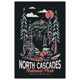 National Parks North Cascades Washington Lantern Press Postcard