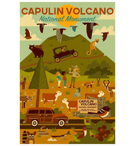 Geometric Capulin Volcano National Monument Lantern Press Postcard